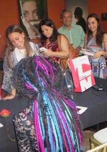 Sofi Oksanen at the Hay Festival in Cartagena 2015, interviewed by Rosie Goldsmith