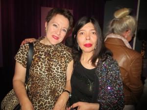 Rosie Goldsmith & Susana Medina at the V & A Shoes Pleasure & Pain