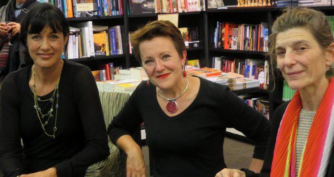 Polly Sansom, Rosie Goldsmith & Ann Goldstein
